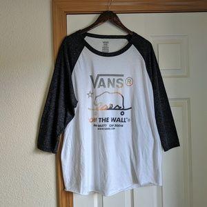 Vans California Bear Baseball Shirt XXL